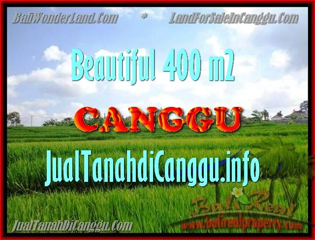 JUAL TANAH MURAH di CANGGU 400 m2 di Canggu Pererenan