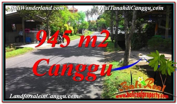 DIJUAL TANAH MURAH di CANGGU BALI Untuk INVESTASI TJCG210