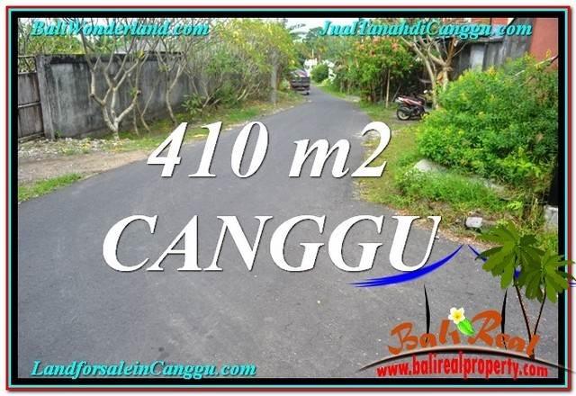 JUAL MURAH TANAH di CANGGU 4.1 Are Lingkungan Villa